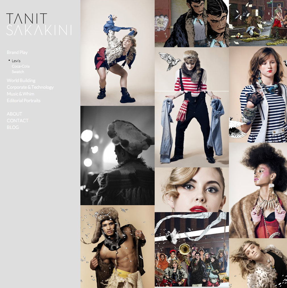 Design: Taming a Web Template for Tanit Sakakini