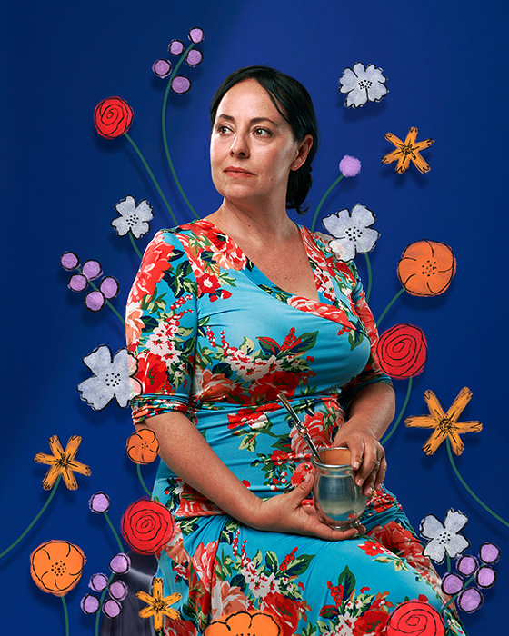Miel Castagna-Herrera, Owner of Café Corazón. Photographed by Lauren Pusateri.
