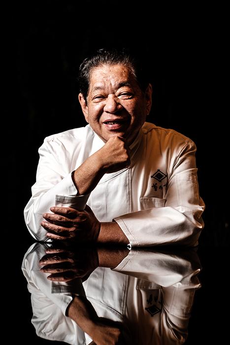 Murata Yoshihiro, chef and president, Kikunoi, Kyoto photographed by Ben Weller.