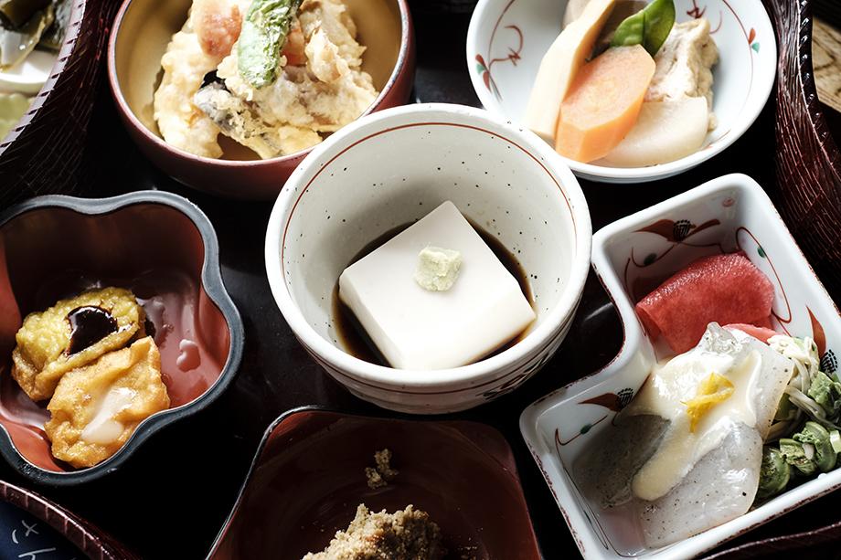 Shojinryori lunch at Sanbou restaurant in Koyasan photographed by Ben Weller.