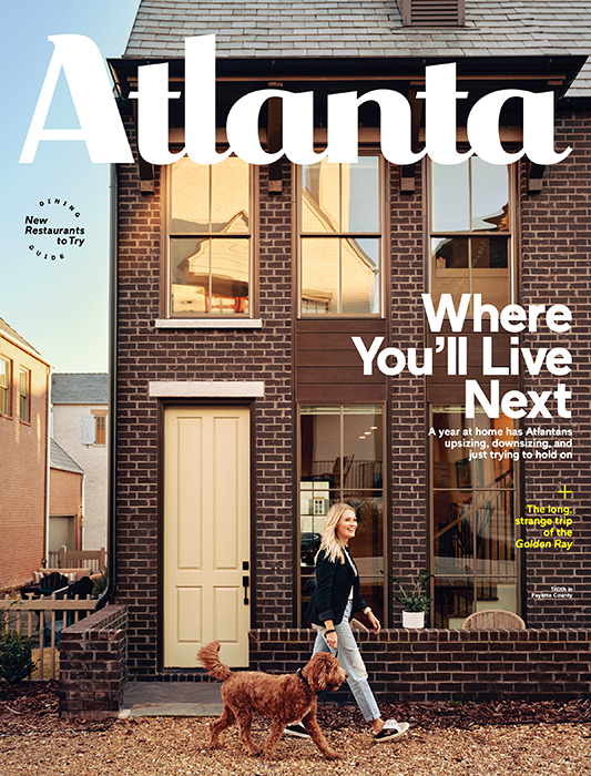 Atlanta Magazine Cover Imagery by Ben Rollins
