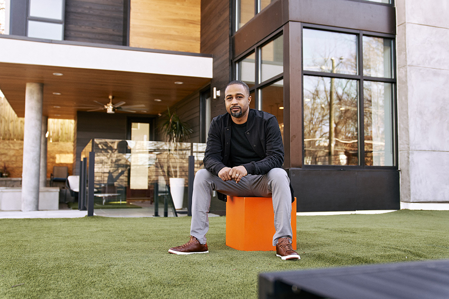 Architect Jordache Avery photographed by Ben Rollins