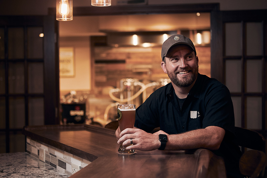 Brewer Greg W. Photographed by CJ Foeckler.