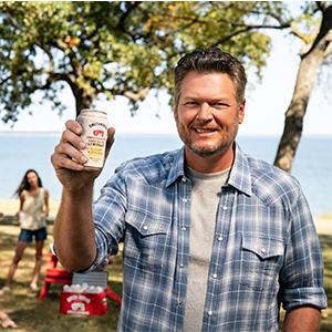 Motofish works with Blake Shelton to promote Smithworks Vodka Hard Seltzer Lemonade