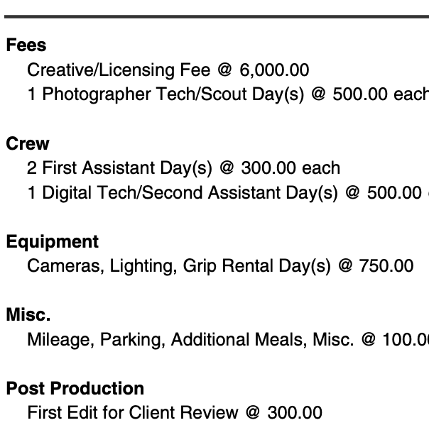 Pricing & Negotiating: Headshots for a Law Firm