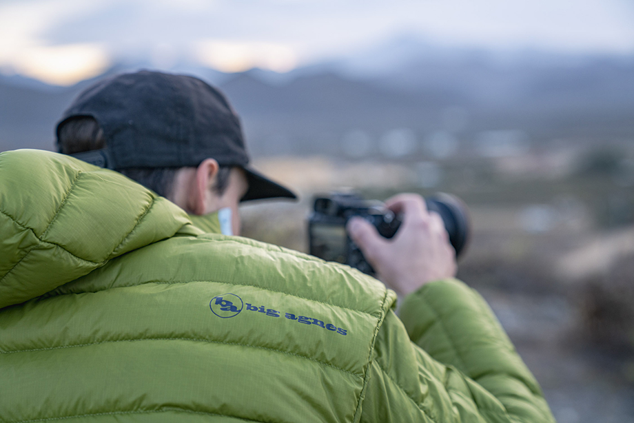 Sunrise product photography with Chris Wiley on the cliffs of Cerritos. Photography by Dalton Johnson.