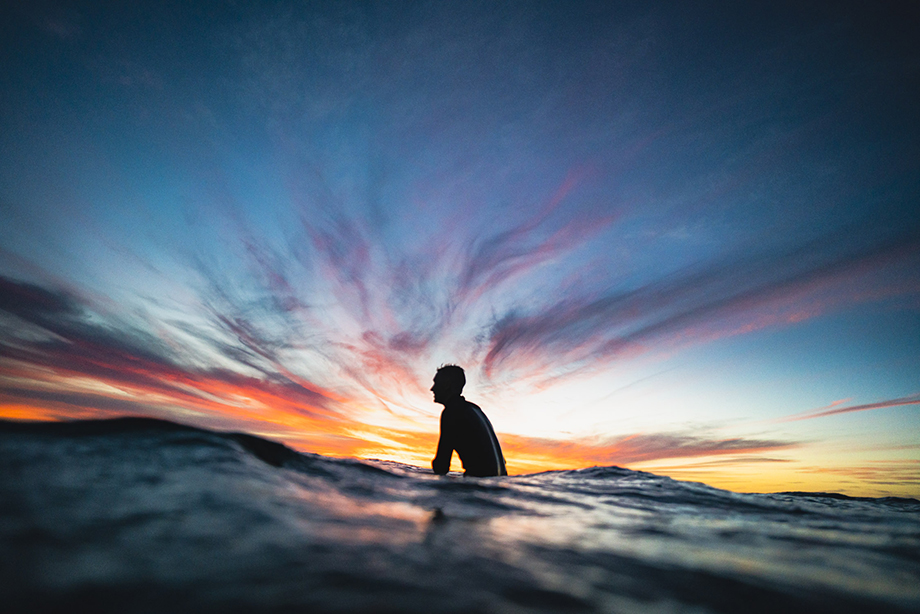 Surfing in Baja California. Photography by Dalton Johnson.