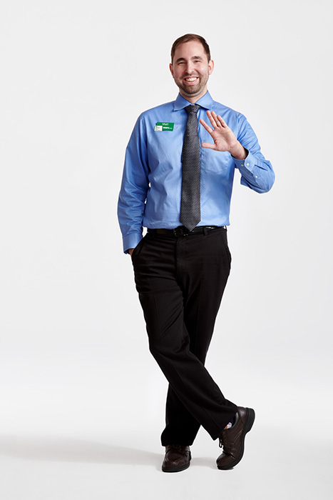 Matthew Myrick, a WSFS Banker photographed by Dave Moser.