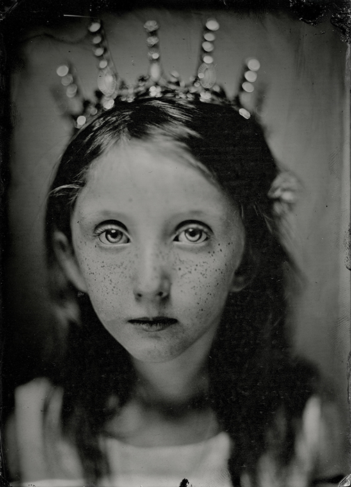 My granddaughter Breckin Martinez had this yearís birthday wet plate portrait during the pandemic. This was the first grandchild birthday during the pandemic and she didnít have a family birthday party this year. She turned six in mid-August 2020.  Wet plate collodion image by Earl RIchardson.