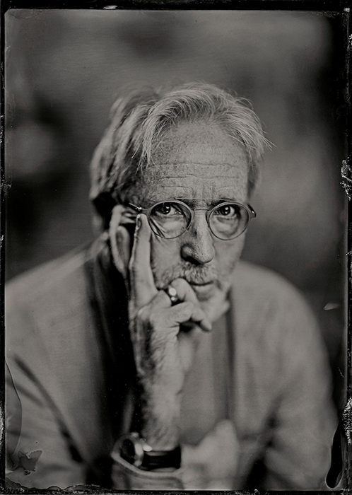 Earl Richardson, as photographed by fellow photographer and wet plate mentor Jeff Schotland.