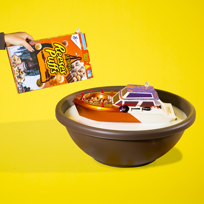 The little yatch in a breakfast scene as photographed and styled by Emily Malan.