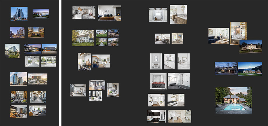 Lindsay Thompson's sequencing maps for Eric Tates images