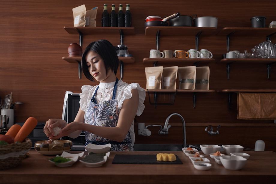 Naoko Yoneyama photographed by Irwin Wong for SK-II.