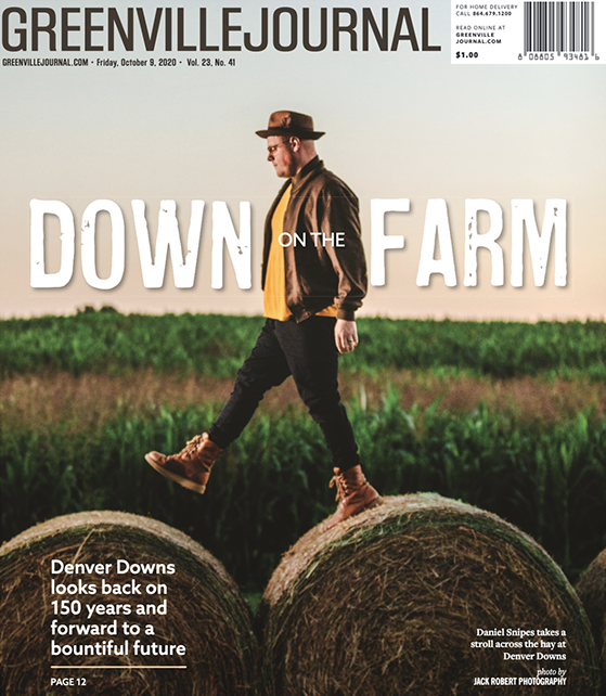 Cover of the Greenville Journal photographed by Jack Robert Connolly.