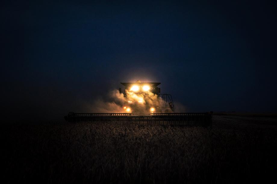 America's heartland. The farms of rural North Dakota. Photography by Jason Elias