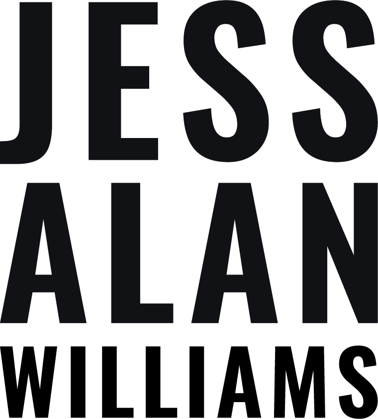 The finished product of Jess Williams' Wordmark