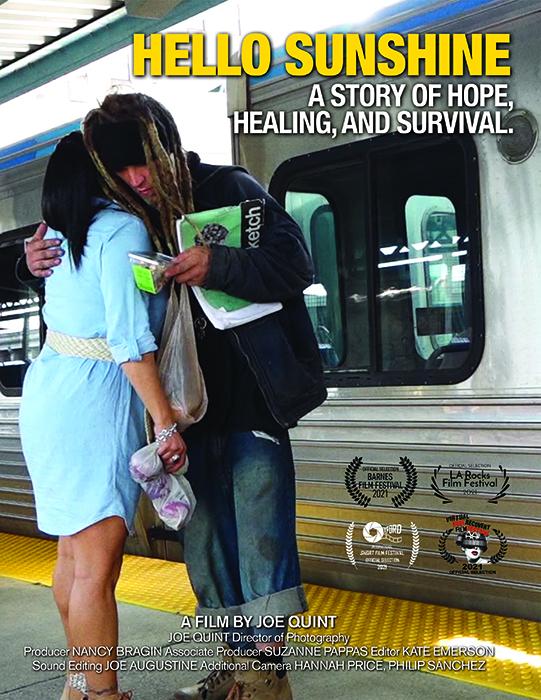 """Poster for Joe Quint's documentary """"Hello Sunshine""""."""