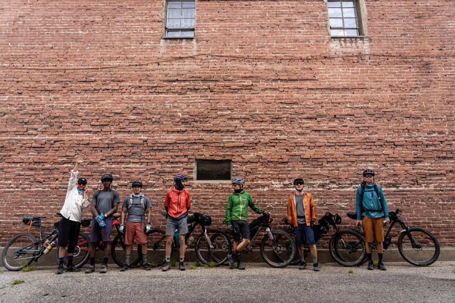 The crew of C-Team from Kody Kohlman's film C-Team shot for Fat Tire