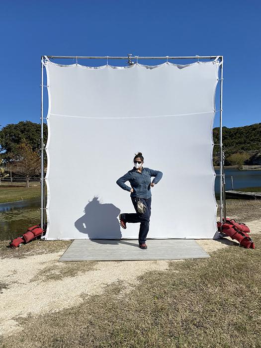 A behind-the-scenes look at Nicole Mlakar's shoot.