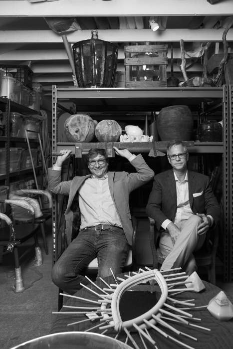 Two architects shot by Rob Culpepper for Barrett Austin's book Of Common Origin