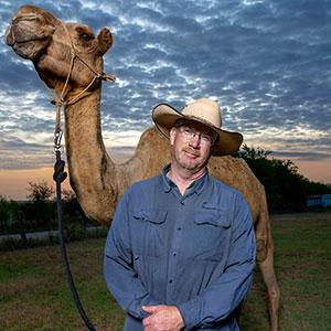 Camels in Texas: Scott Van Osdol for Texas Co-Op Power