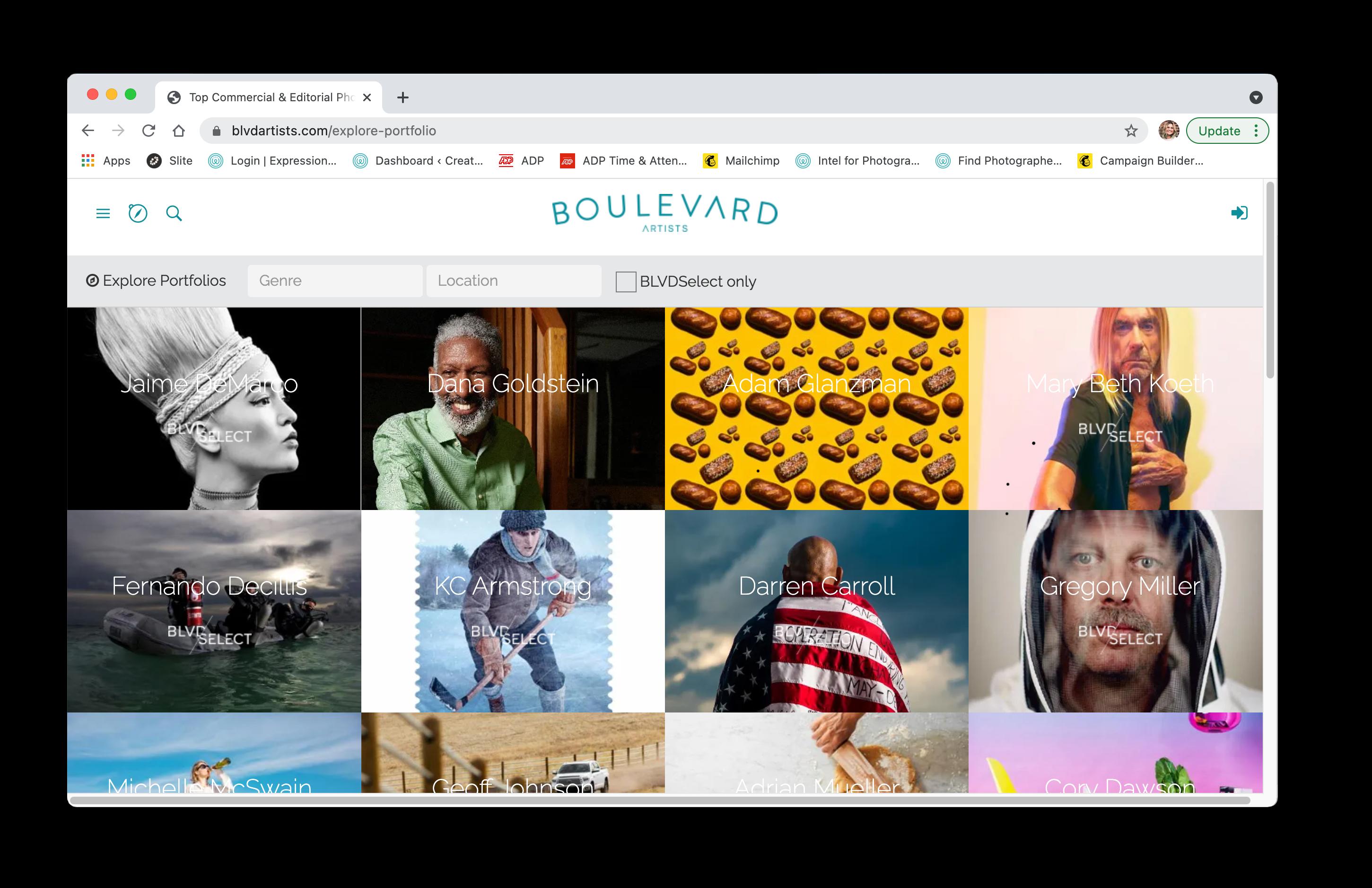 Boulevard Artists screenshot