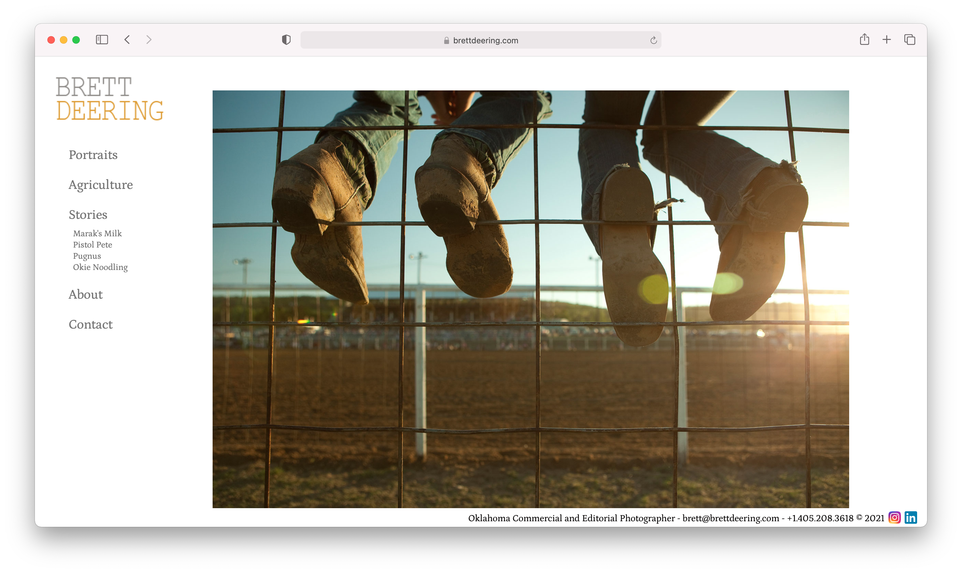Brett Deering's Home page for Industrial photography