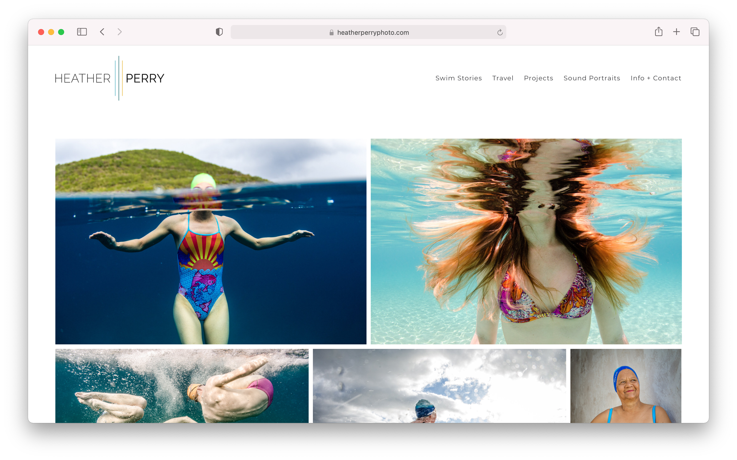 Lindsay Thompson's final web template customization for heather perry's branding overhaul
