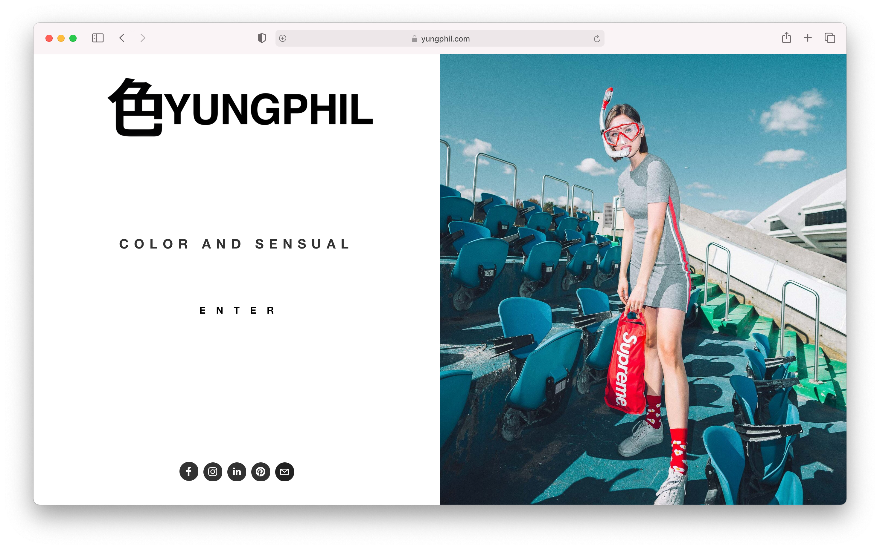 Philippe Nguyen's home page during Eloisa Garcia's List build