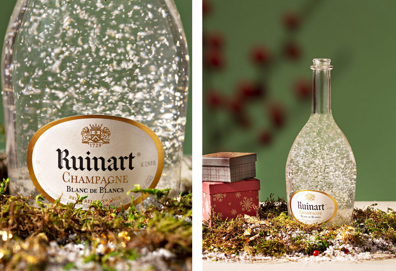 Marzia Gamba's deliverables for champagne brand Ruinart