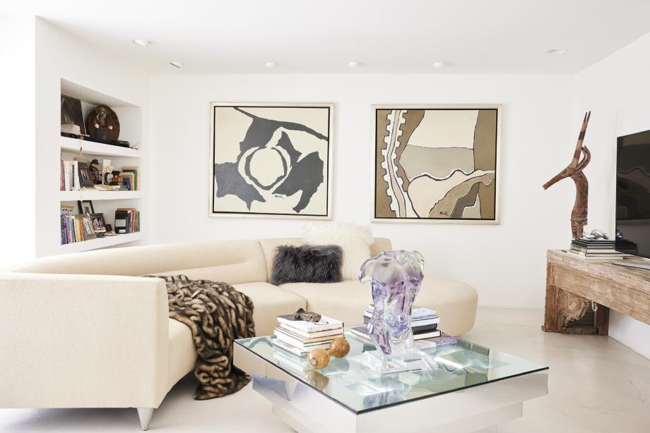 Jo Ann Tull's home interior design shot by Steve Craft for Phoenix Home and Garden Magazine