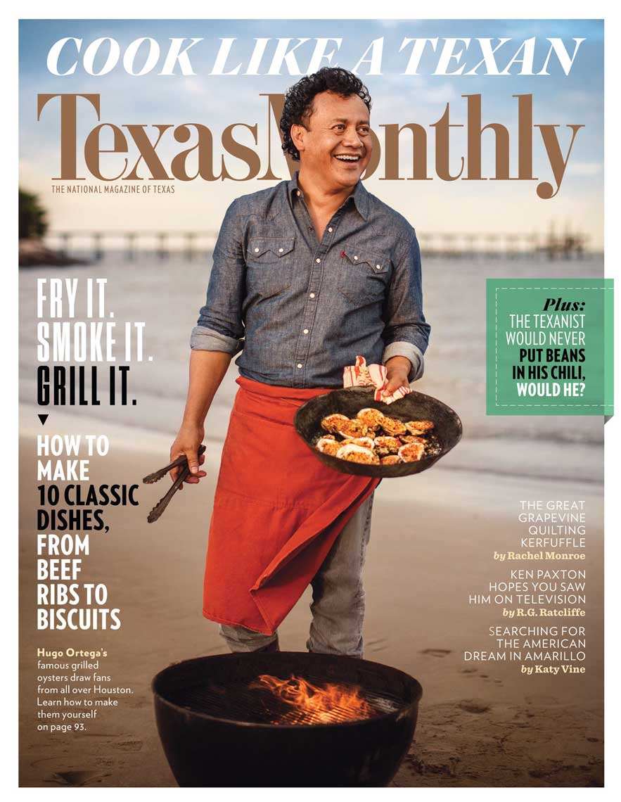 Jody Horton's image for Texas Monthly magazine