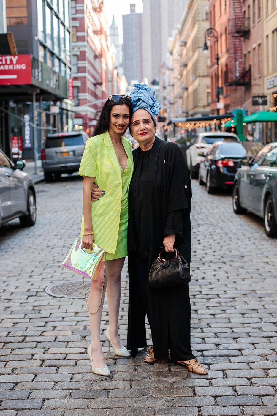 Farah Zulaikha and Rebecca Moses shot by Tina Boyadjieva for Pump magazine