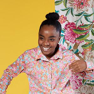 Very Clever's Vibrant Portraits of Jabella Fleur for Atlanta Magazine