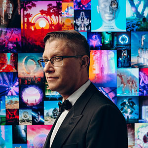 Will Crooks Introduces The Humorous Side Of Digital Visionary Beeple for GQ UK