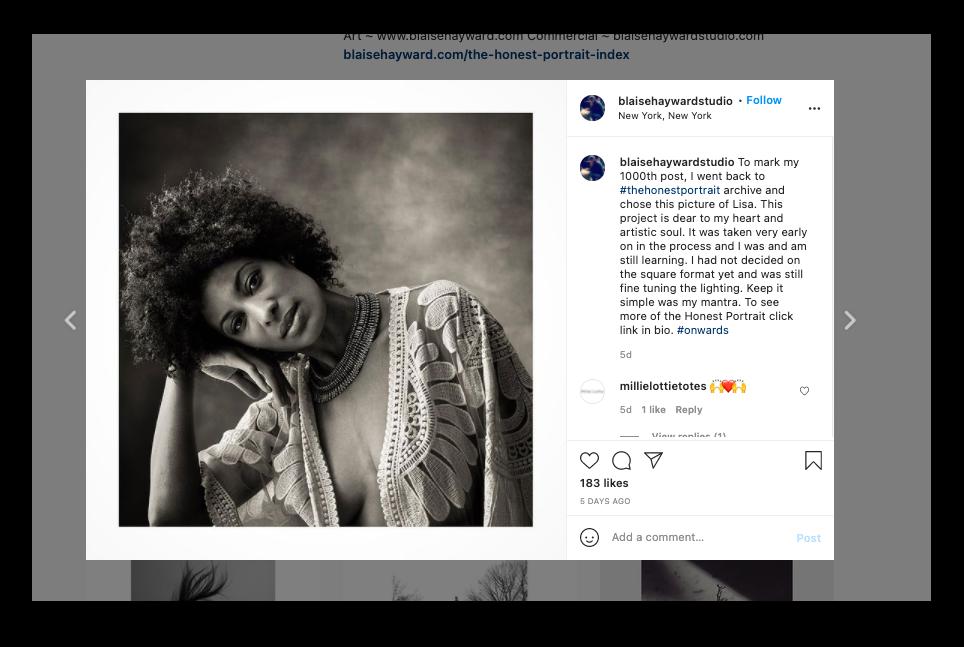 Blaise Hayward Photographer Wonderful Machine Instagram Best Practices