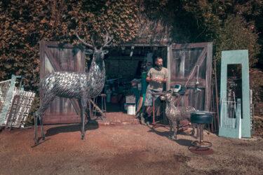 George Hider Metal Artist Merriott. Life In A Somerset Landscape Project