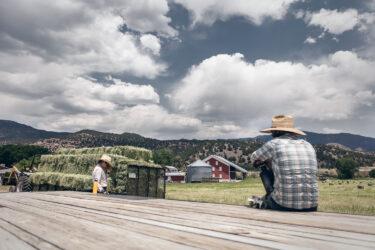 Doug Gritzmacher Denver Agriculture Photographer Portrait Making Hay 10