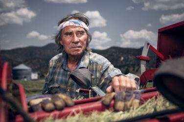 Doug Gritzmacher Denver Agriculture Photographer Portrait Making Hay 2