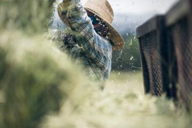 Doug Gritzmacher Denver Agriculture Photographer Portrait Making Hay 8