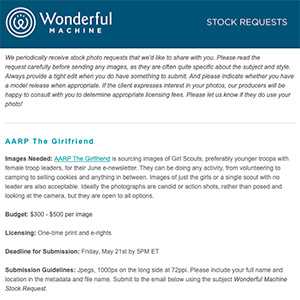 Stock Requests: May 2021