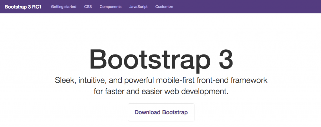 Bootstrap for Responsive Web Design