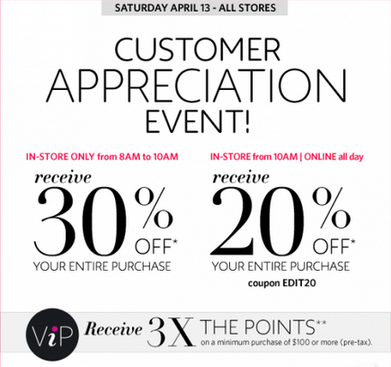 Customer Appreciation Email Example 1