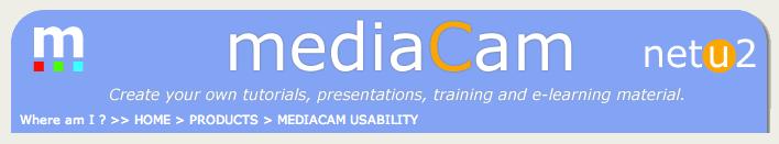 MediaCam Usability Testing Tool