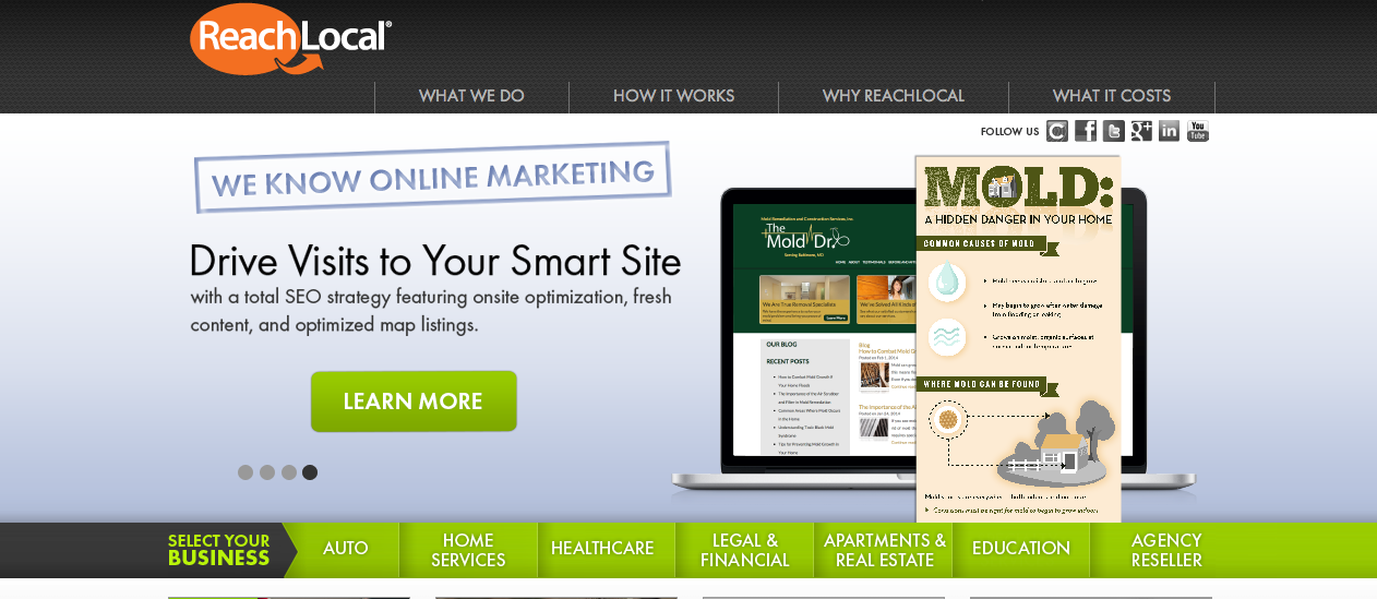 ReachLocal - Top Online Marketing Company - WooRank Blog