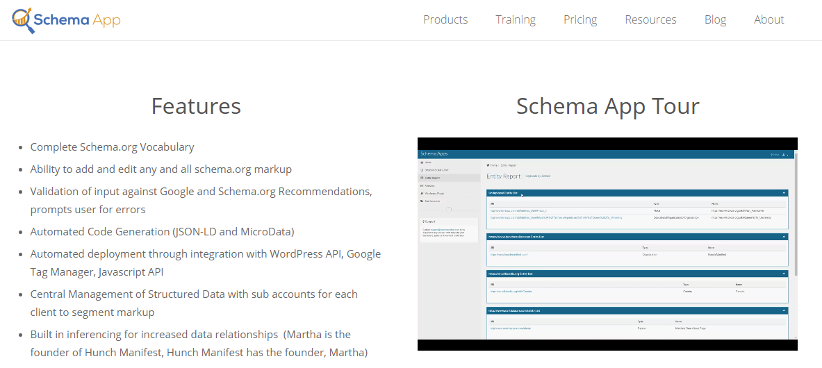 Scema App for SEO
