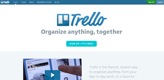 Trello Content Organizing Tool For Content Marketing