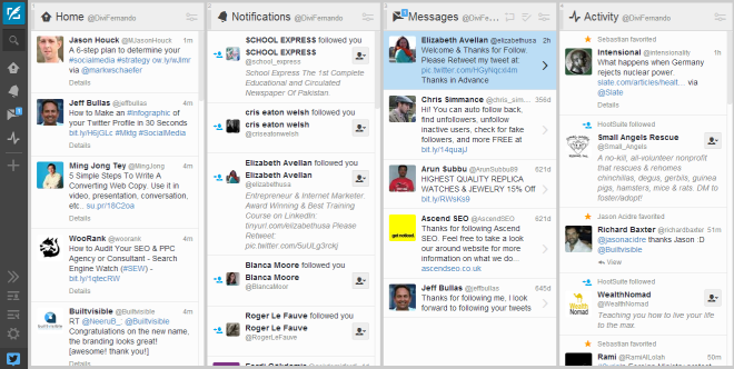 how to give free followers on tweetdeck