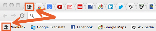 WooRank favicon shown on browser and bookmark tabs
