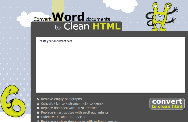 Word2cleanhtml Content Editing Tool For Content Marketing